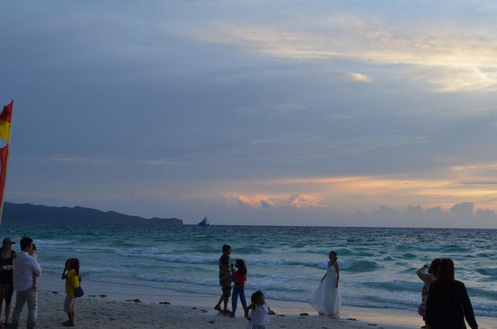 フィリピン ボラカイ島 ホワイトサンドビーチ ウェディング