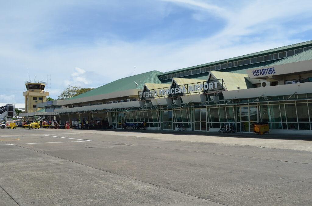パラワン諸島 プエルトプリンセサ空港