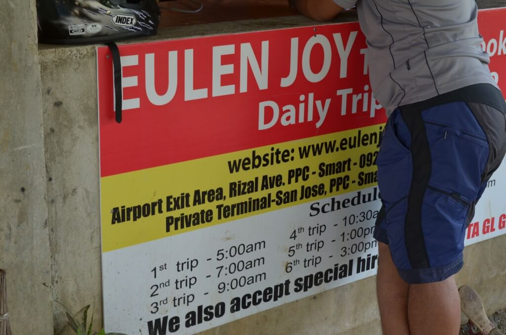 パラワン島のプエルトプリンセサからエルニドの行き方情報