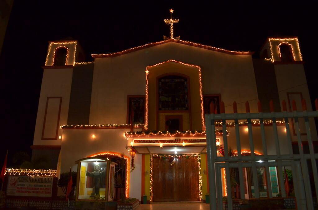 パラワン諸島 エルニド 教会 クリスマス