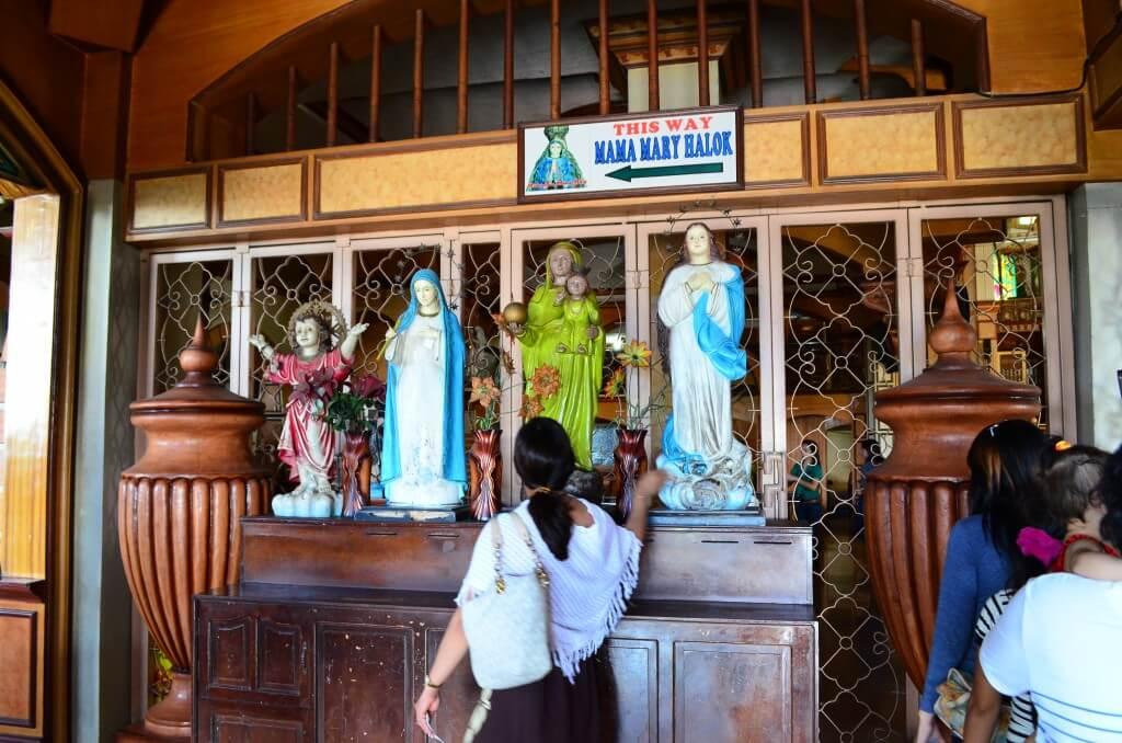 フィリピン セブ島 シマラ教会 マリア様