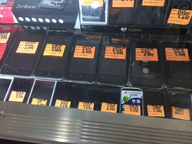 セブ島のダウンタウンのコロンでSamsungのGalaxyS5の偽物を買ったらどうなる?