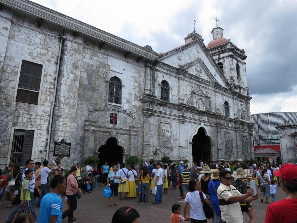 サント・ニーニョ教会、マゼラン・クロス、サン・ペドロ要塞