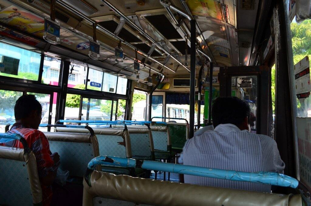 キンプン(チャイティーヨー)までVIPバスで移動!と思ったら!?