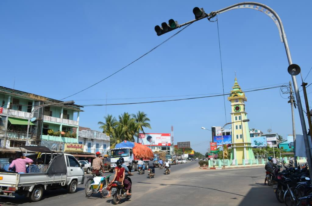 着いたバゴーの街は今までのミャンマーの他の街と違った!?