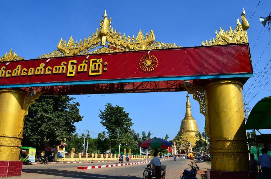 ニャウンシュエ(インレー湖)行きのバスの時刻までバゴー観光!ミャンマー3大パゴダのシュエモード・パゴダに行くも!?