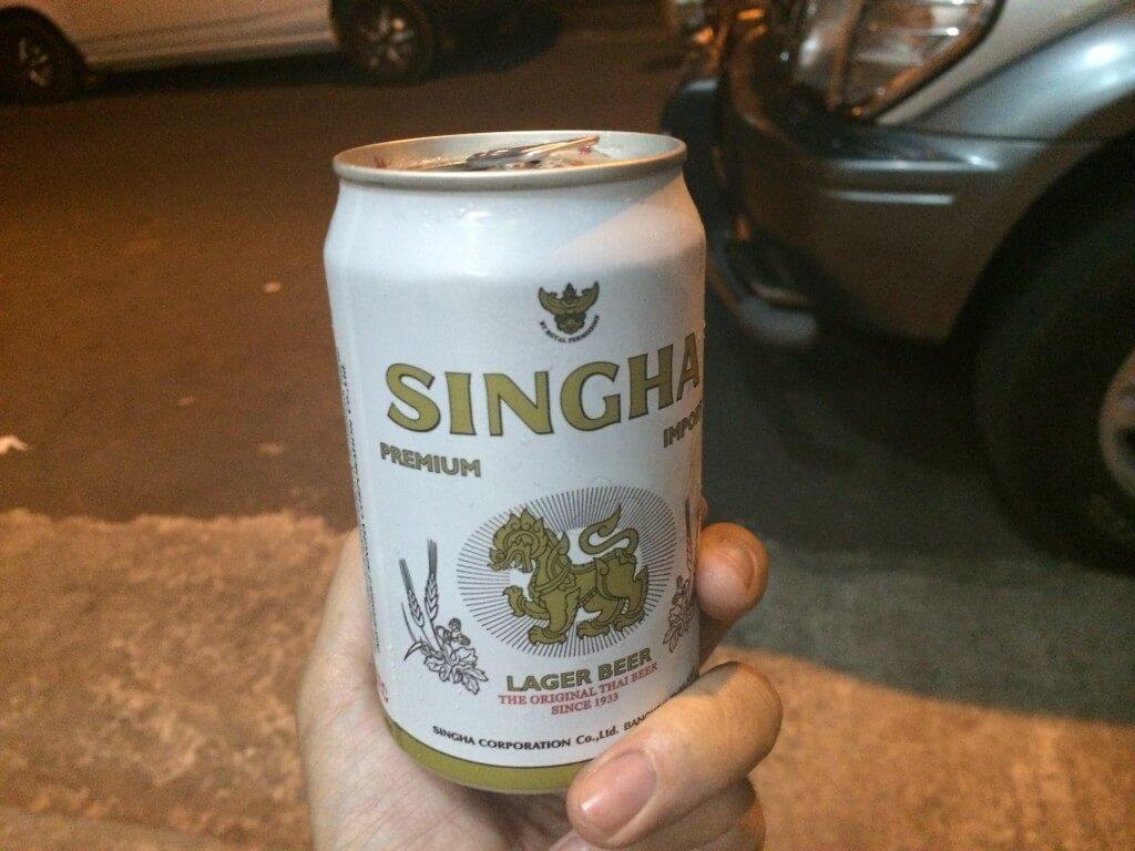 ミャンマー シンハー SINGHA ビール
