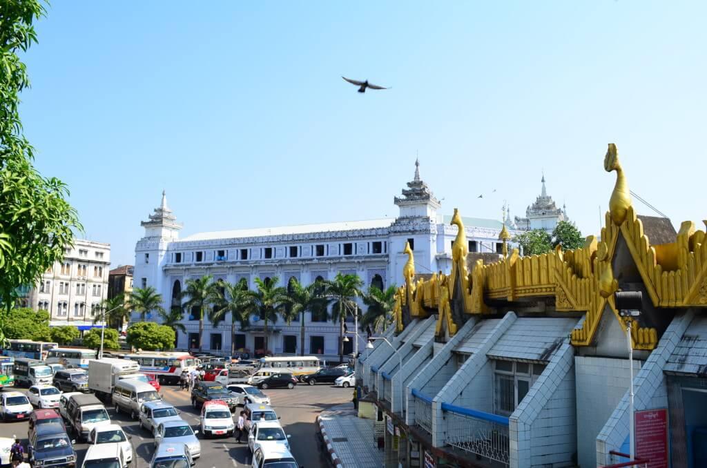 ①ヤンゴン観光 安宿・ホテル、食事、移動手段、観光情報