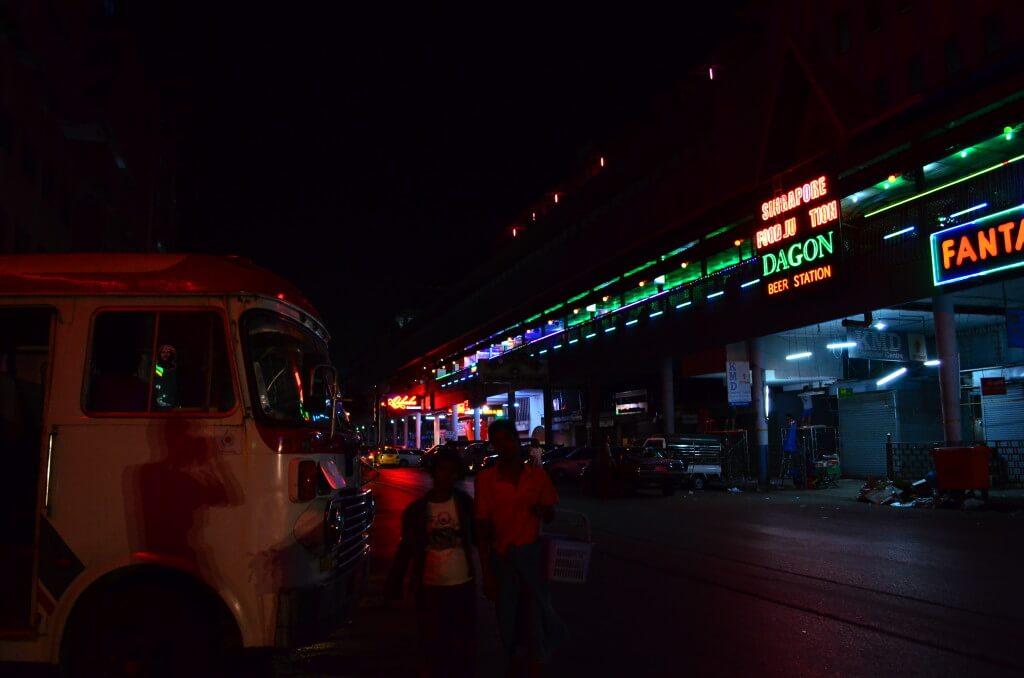 ミャンマーのヤンゴンの風俗でクラブディスコ・置屋(マッサージ?)・KTV(カラオケ)などの夜遊びの内容、場所は?