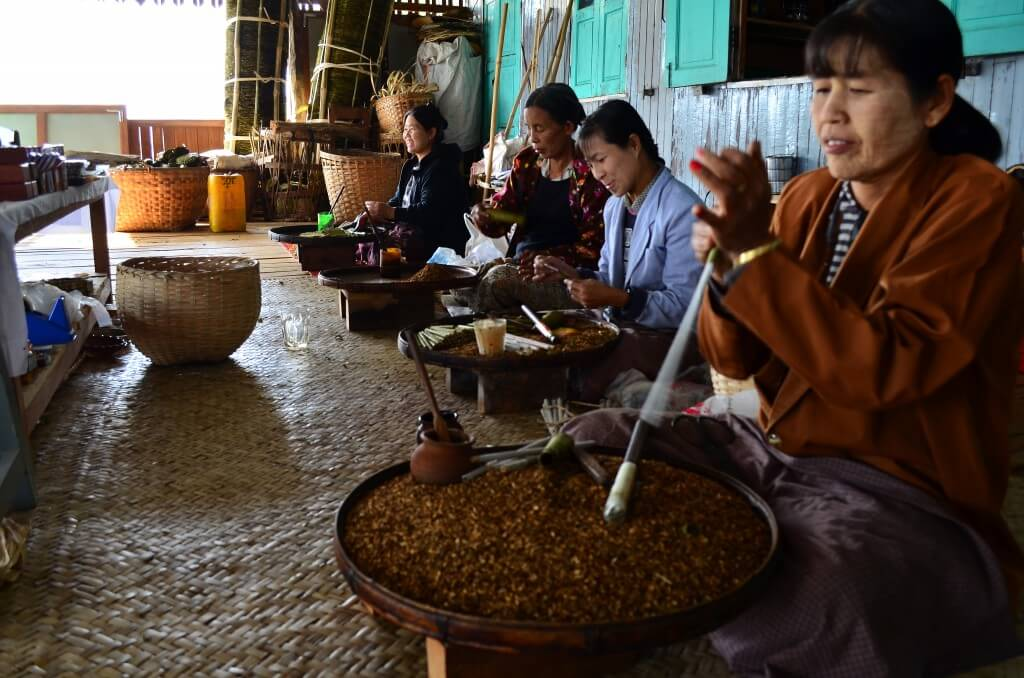 ミャンマーの葉巻の生産場所!ミャンマーのお土産にひとついかが?