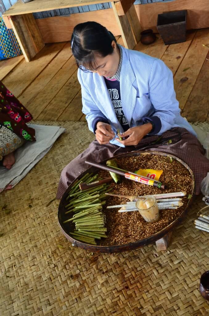 ミャンマー 葉巻 タバコ フルーツテイスト