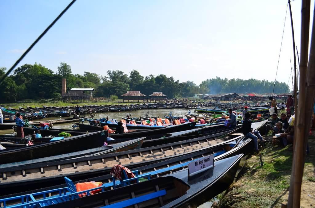 日付が合うなら!インレー湖で開催される五日市は最大のミャンマーの市でかわいいミャンマーお土産がいっぱい