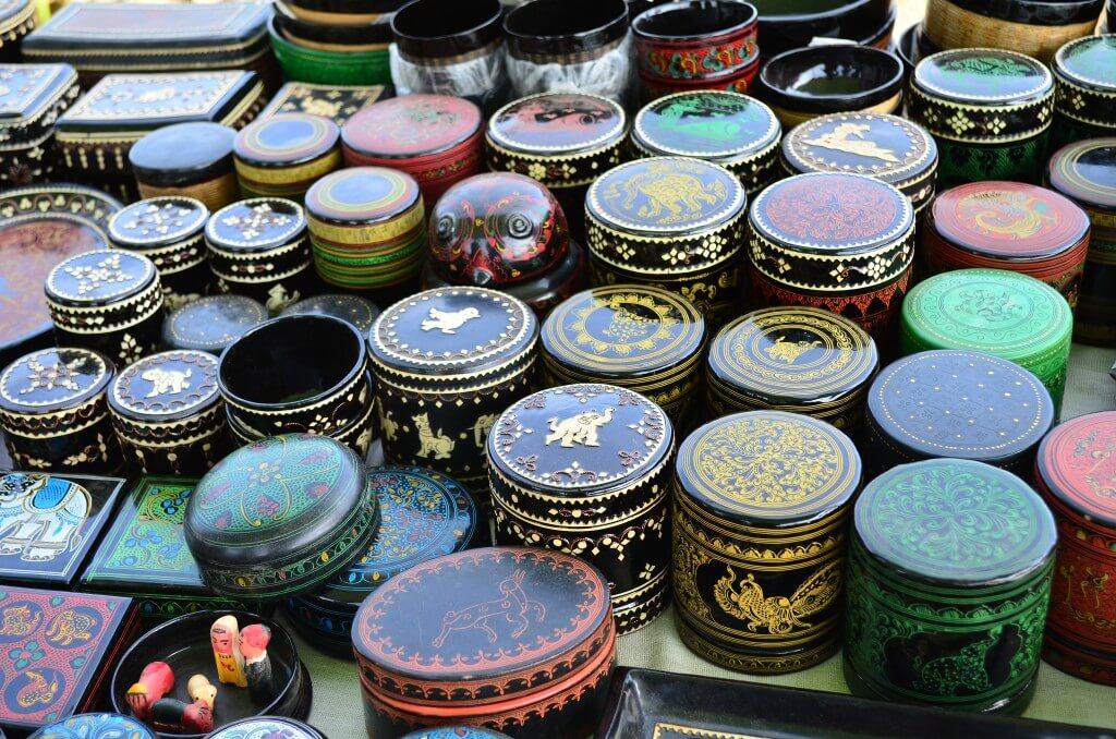 インレー湖 五日市 民芸品 ミャンマー お土産