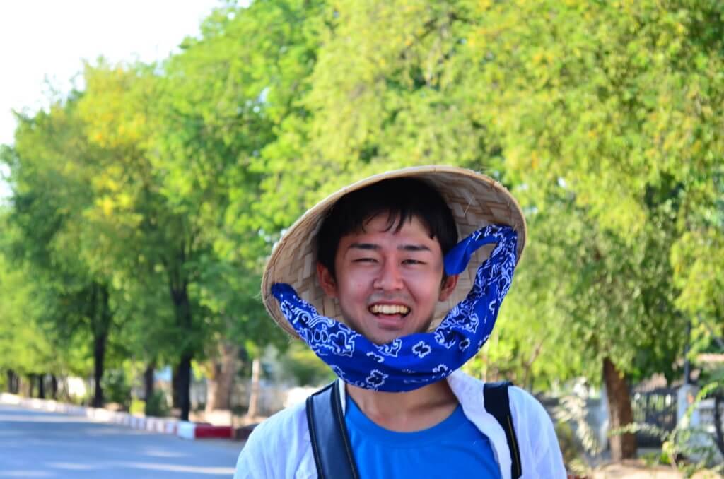 ミャンマー マンダレー 帽子