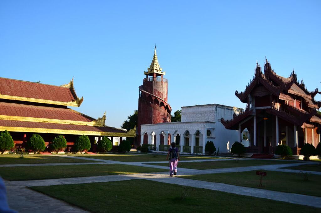 マンダレー 王宮