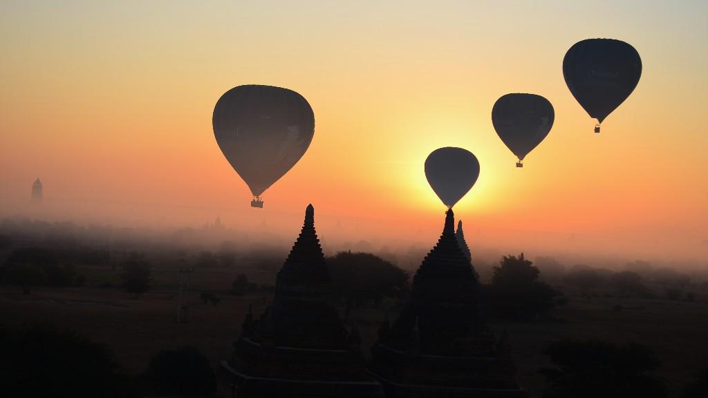 バガンの観光で気球と朝日はBulethiで絶対に観るべき!おすすめのゲストハウスや観光方法、注意点まとめ