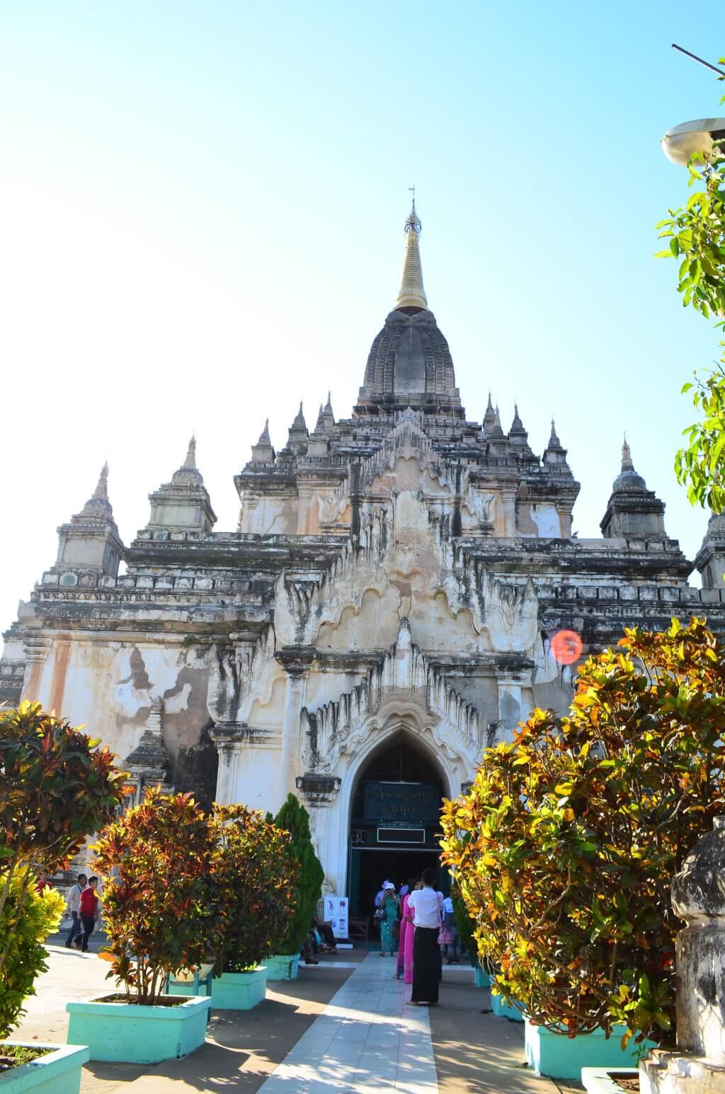 バガン遺跡 オールドバガンのゴドーパリィン寺院(Gawdawpalin Temple)