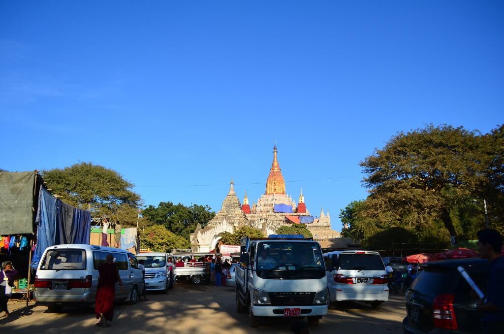 バガン遺跡 ミャンマー