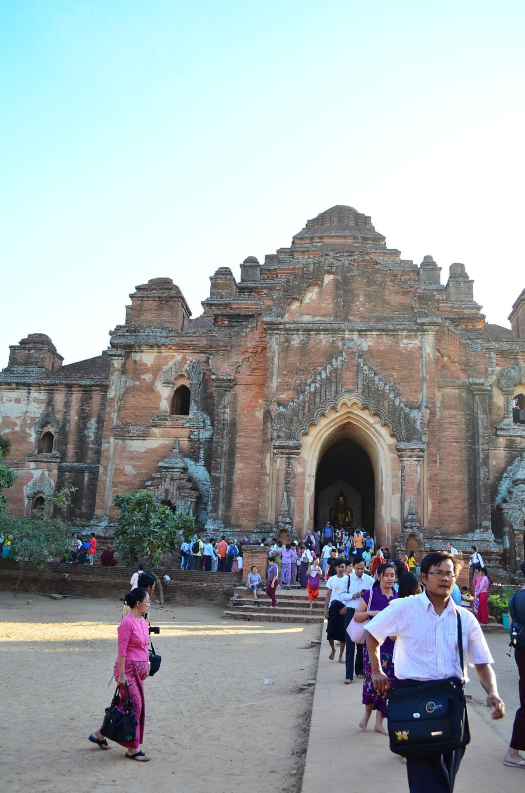 バガン遺跡 オールドバガンのダマヤンジー寺院(Dhammayangyi Temple)