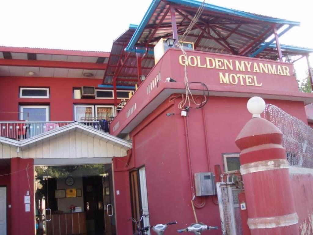 ニャウンウーのおすすめの安宿はGorden Myanmar Guesthouse(ゴールデンミャンマーゲストハウス)