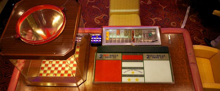 セブ島のカジノは赤白のテーブルゲームが面白い