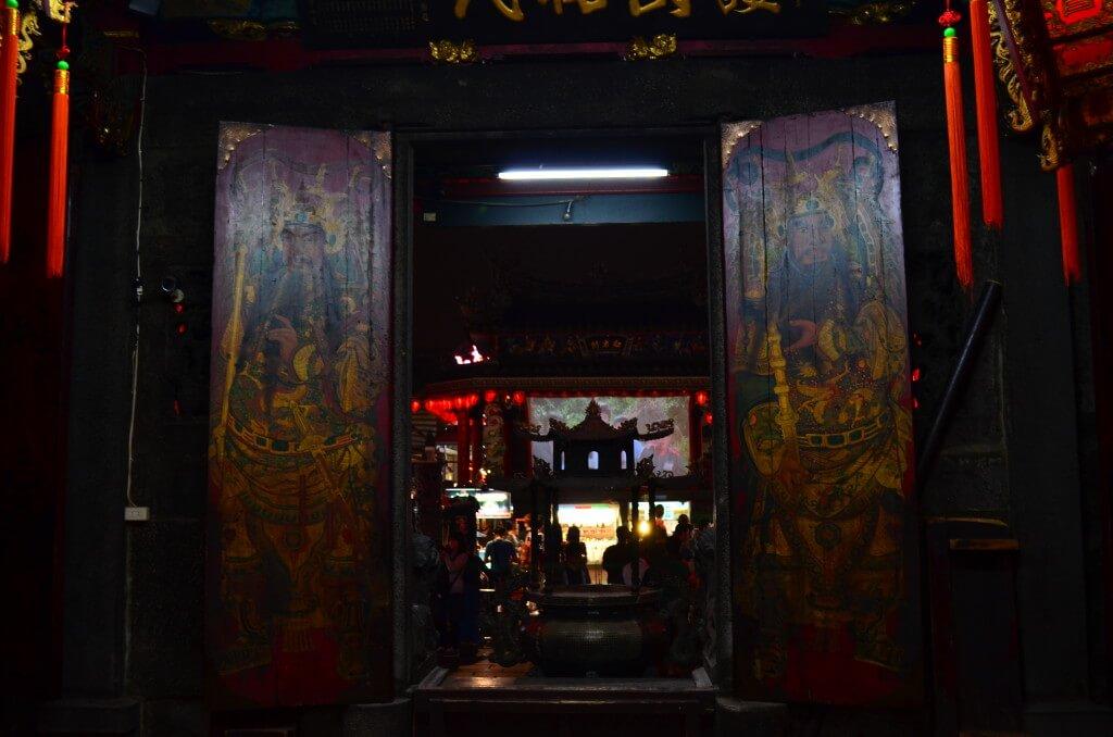 台北 士林夜市 士林慈誠宮 門