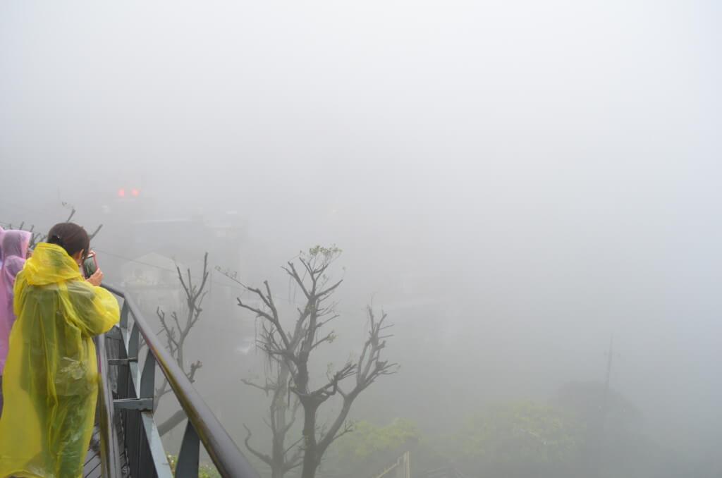 九份の絶景スポット!霧がでていなければね!