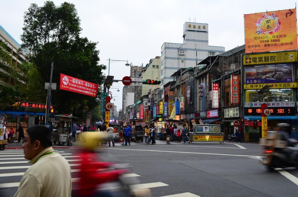 台北の寧夏夜市近くの盲目マッサージ(盲友按摩)は痛いよ
