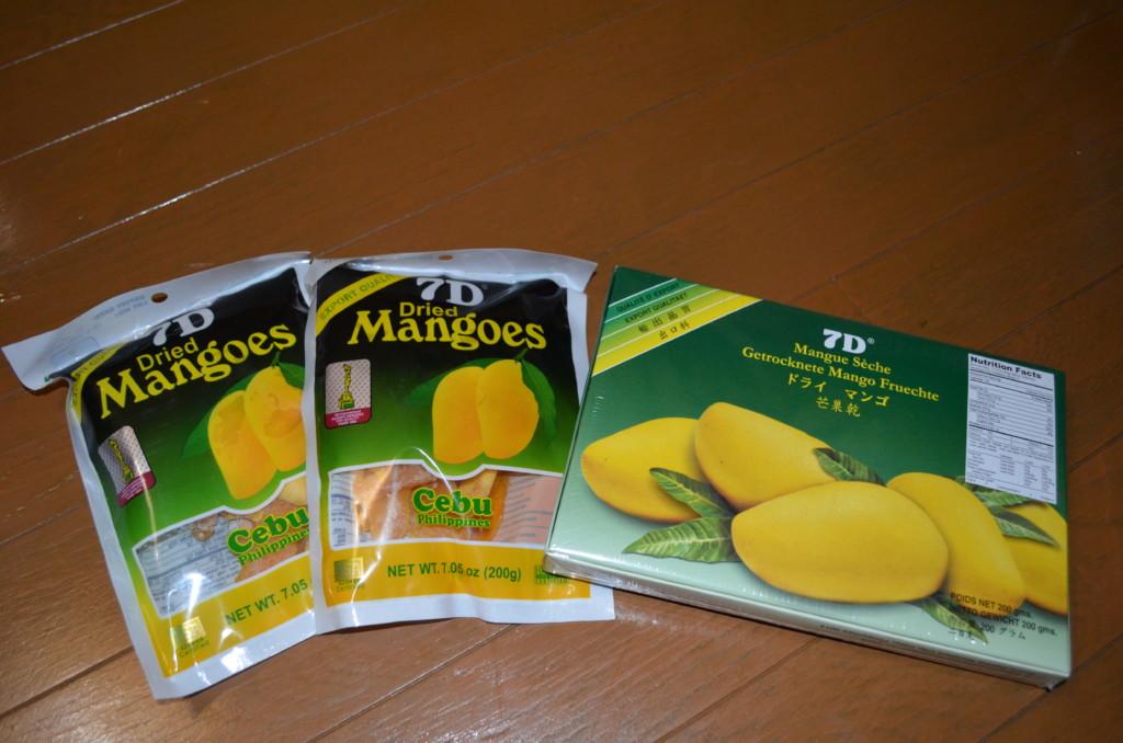 セブ島のお土産 7Dドライマンゴー アヤラモール