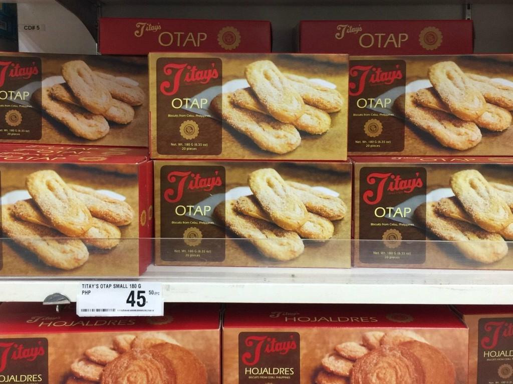オタップ(OTAP)はうなぎパイみたいな味