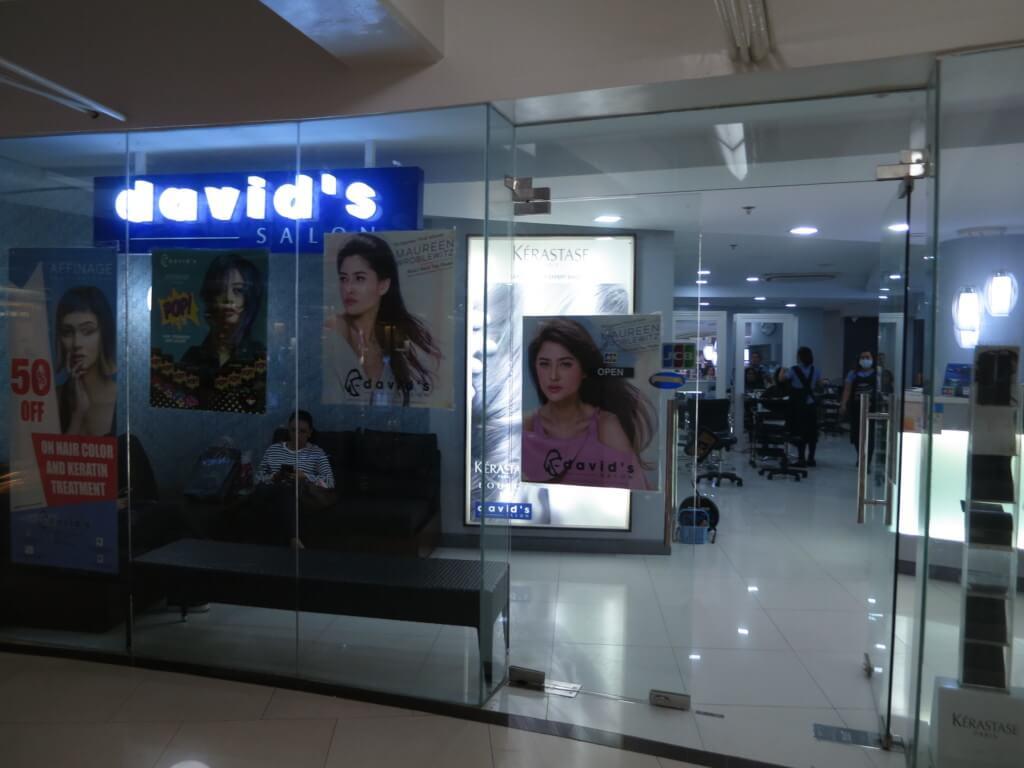 美容師のランクで料金が変わるセブ島のおすすめ美容院のデイビッドサロン(David's Salon)
