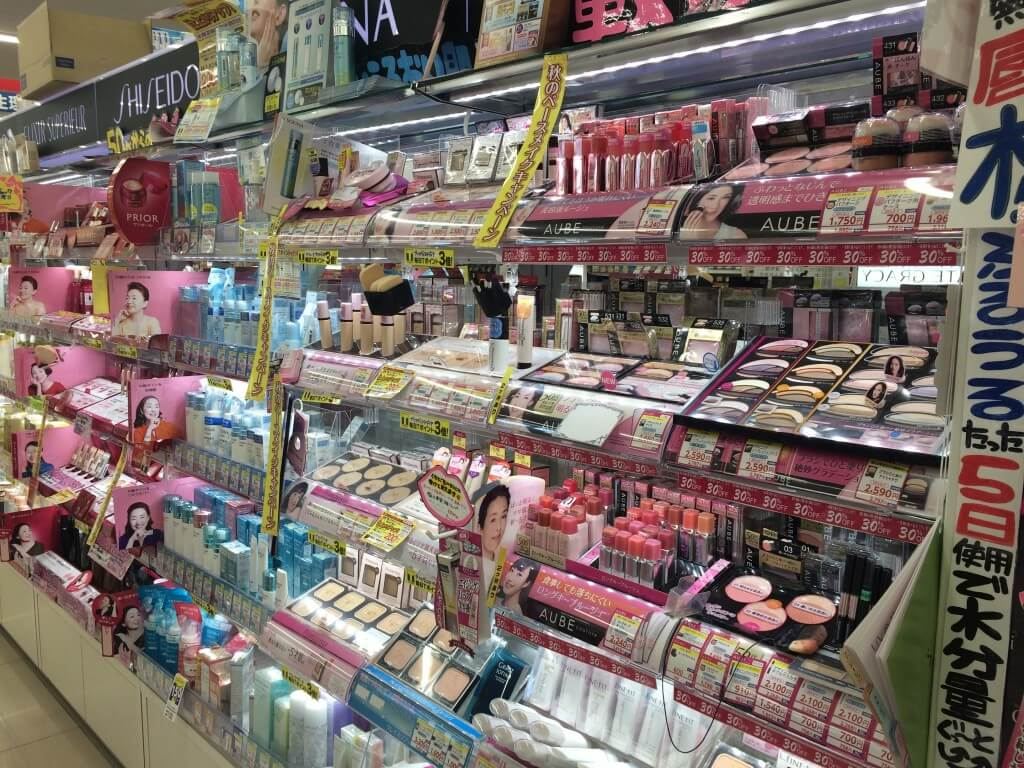 日本からのお土産 「日本メーカーの化粧品」