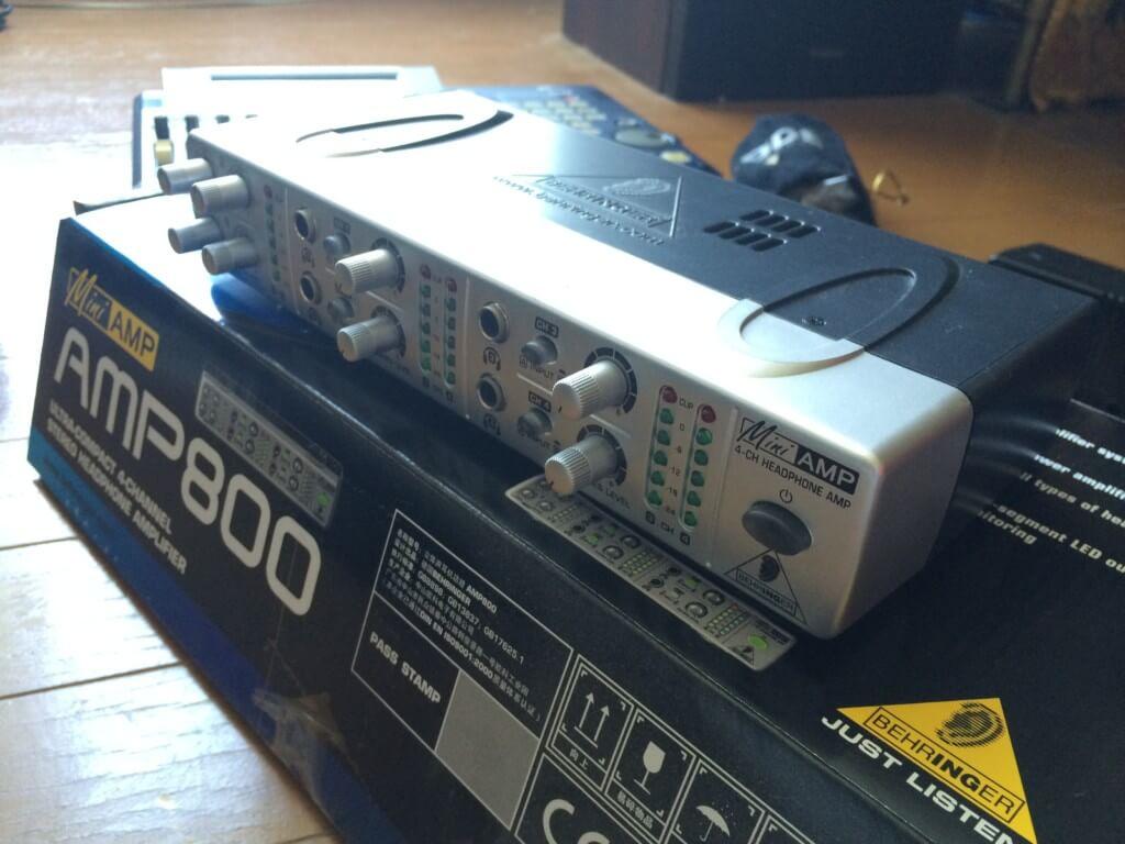 BEHRINGER AMP800 ヤフーオークション 楽天オークション