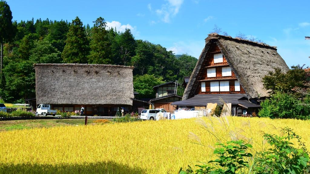 愛知県から白川郷・飛騨高山のアクセス・行き方や食べ歩きグルメにお土産を紹介するよ