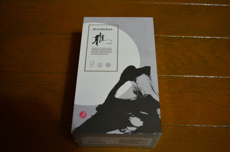 さっそく届いたFreetel SAMURAI MIYABI(雅)を触ってみる!