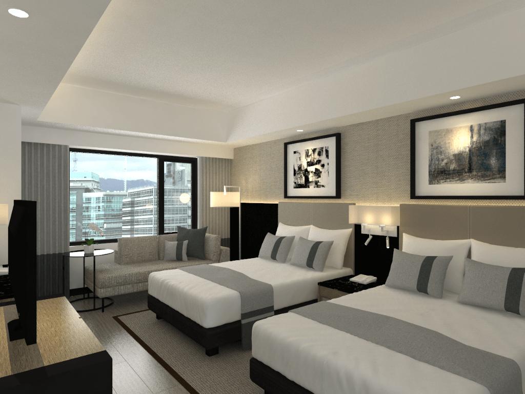 アヤラモールのすぐ隣にあるセダ アヤラ センター セブ (Seda Ayala Center Cebu)旧マリオットホテル(Cebu City Marriott Hotel)