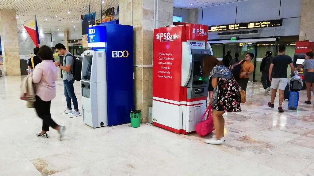 セブ島のマクタン国際空港でSIMを買う場所や両替所・ATMの場所などまとめ