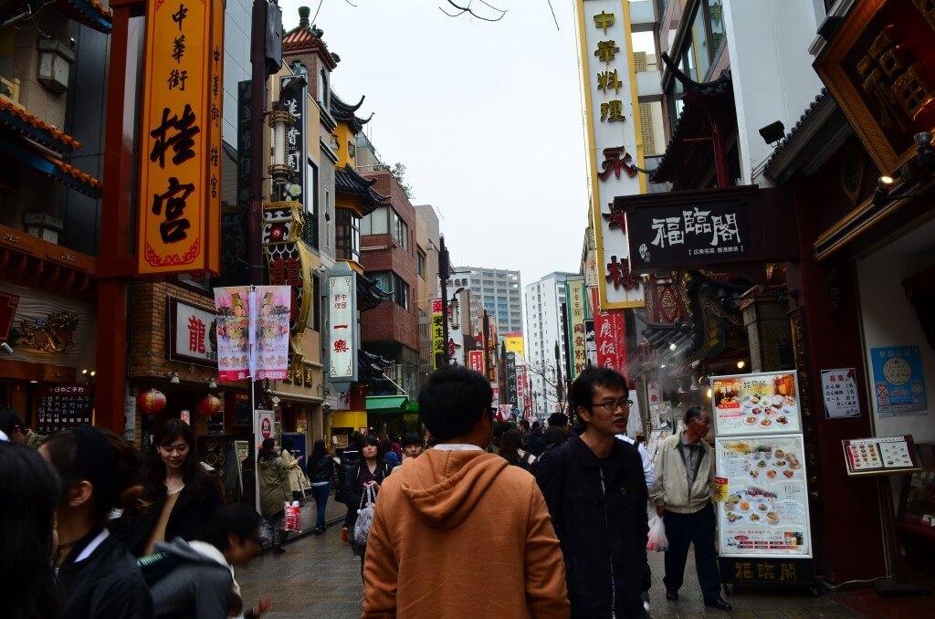 横浜中華街 中国人