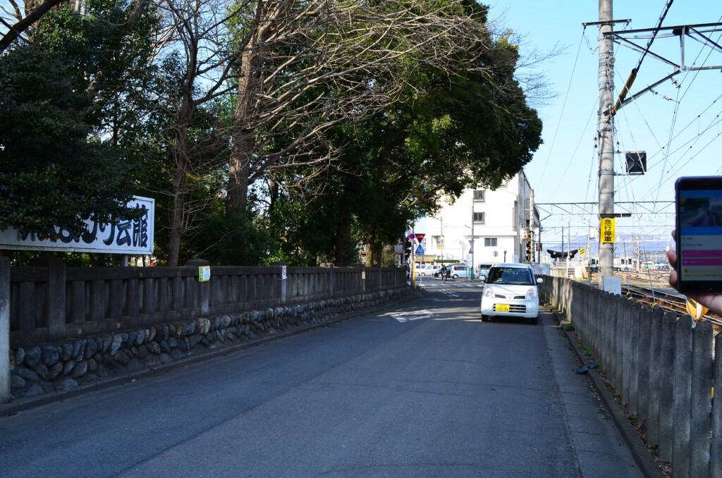 秩父鉄道沿い あの花