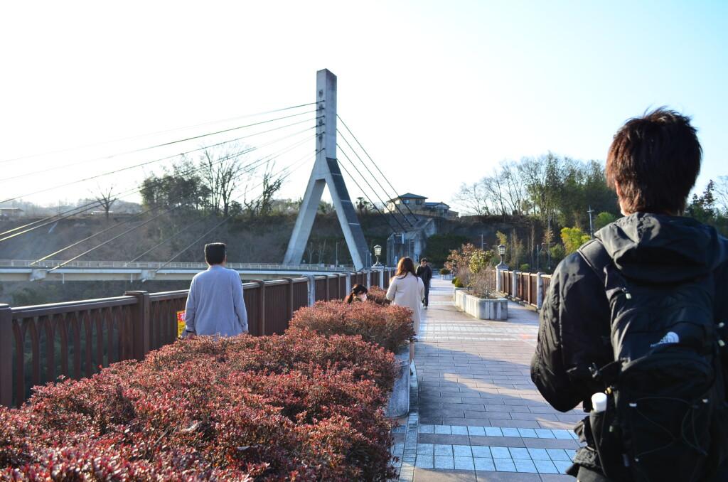 あの花聖地巡礼の最大の見せ場の旧秩父橋と羊山公園