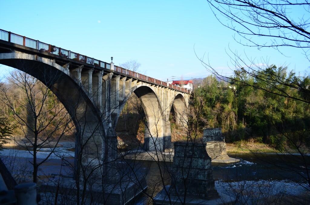 あの花最大の聖地で旧秩父橋