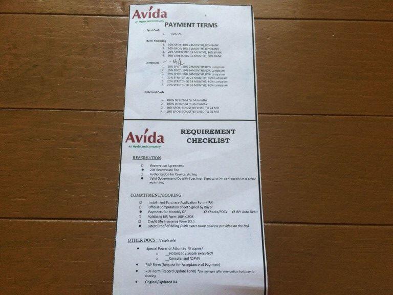 セブシティ Ayala Land(アヤラ ランド) 新築コンドミニアム Avida Tower RIALA(アビダ タワー リアラ) ディスカウント ペイメント