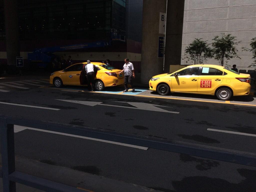 「タクシー」でセブのマクタン国際空港から市内へ
