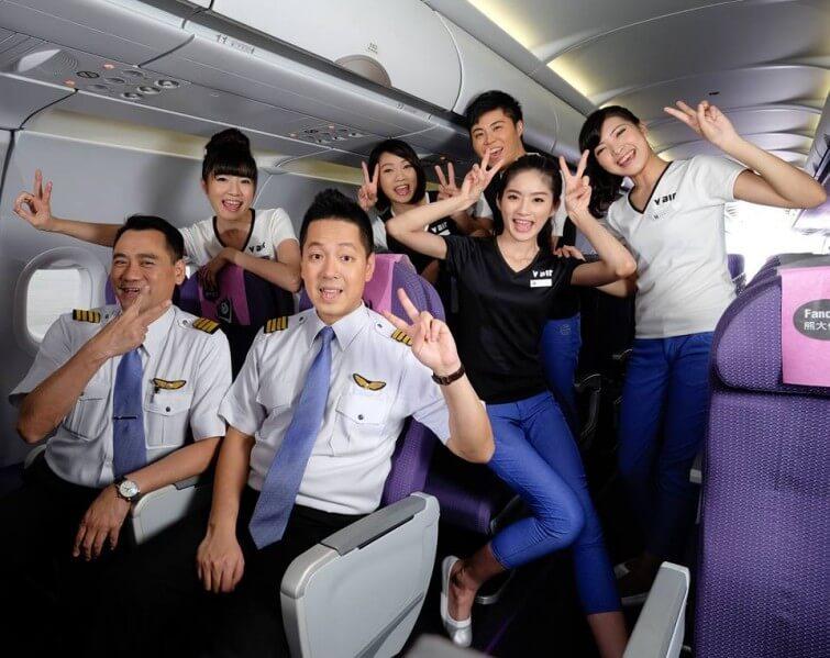 名古屋から台湾へはVエアー(V-Air)の安いプロモーションチケット