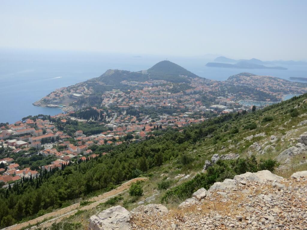 スルジ山 ドブロブニク 景色 魔女の宅急便 クロアチア 絶景