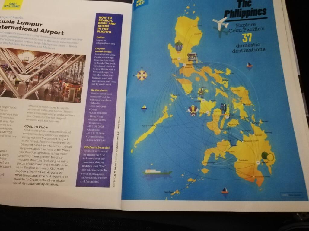 日本からフィリピンのマニラ、国内線でマニラからセブ島への行き方・アクセスで安い航空券や航空会社、LCC