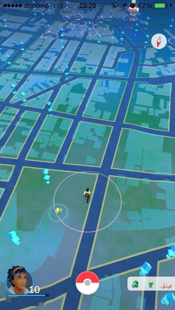 ポケモンGOのポケストップが豊橋で多い場所は?豊橋駅前?