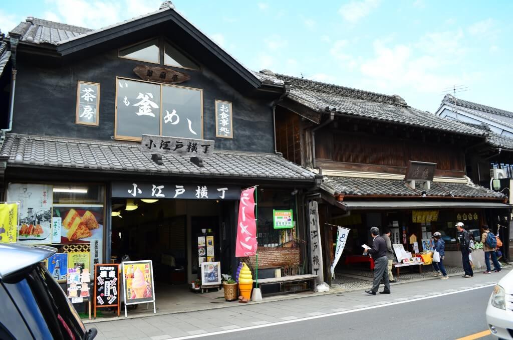小江戸川越で観光よりも食べ歩きはお団子に和菓子、お餅、焼き芋とお土産