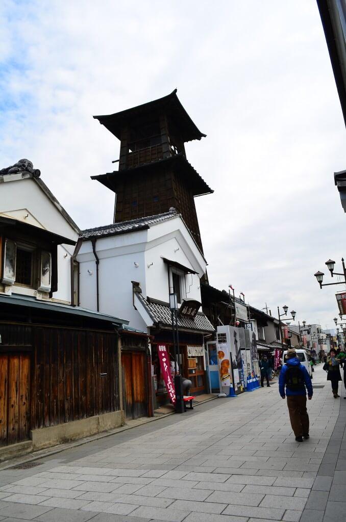 川越小江戸観光で「菓子屋横丁」に「時の鐘」と大正浪漫夢通りを歩く!