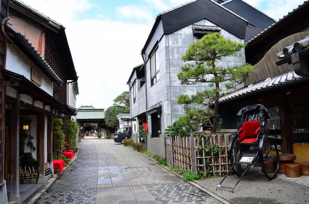 小江戸川越 城下町 観光 歴史的建造物
